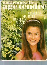 Magazine ancien Mlle AGE TENDRE N° 22 aout 1968 cloclo sheila claude francois