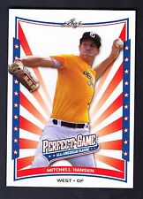 2014 LEAF PERFECT GAME MITCHELL HANSEN  #GM-39 ALL AMERICAN CLASSIC TRUE ROOKIE