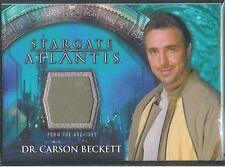 Stargate Atlantis 3&4 Costume Card Dr Carson Beckett 1