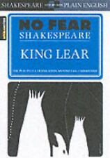NEW - King Lear (No Fear Shakespeare) by SparkNotes