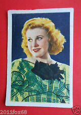 actors acteurs figurine cards nestle stars of the silver screen 61 ginger rogers