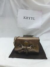NWT Gucci Emily Guccissima Patent Leather Mini Chain Crossbody Shoulder Bag