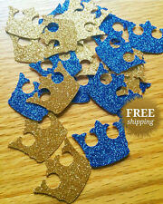 Crown Royal Little Prince confetti die cuts crown confetti