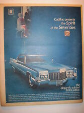 Louisville Courier Journal Magazine 1969. 1970 Cadillac Ad! Oxtail Soup Recipe!