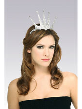Snow Queen Tiara Princess Royalty Accessory Fancy Dress Brand New