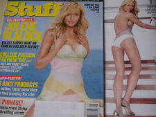 september 2004 Stuff #58 Jolene Blalock sexy cover + Bonnie-Jill Laflin