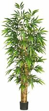 Nearly Natural 5257 Belly Bamboo Silk Tree- 6-Feet- Green NEW