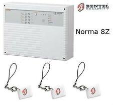 centrale Bentel Norma 8Z + 3 chiavi