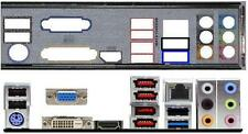 ATX Blende I/O shield ASRock P55 Extreme3 OVP #130 io shield bracket backplate