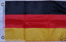 NEW 12x18 GERMAN GERMANY BOAT FLAG WITH BRASS GROMMETS