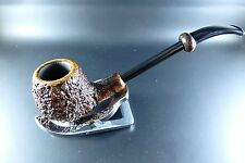 "FREEHAND-PFEIFE PIPE ""ITALIA HANDMADE BY ASCORTI BUSINESS ANNO 1990er JAHRE"""