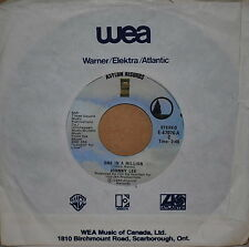 Johnny Lee - One In A Million / Anni - 1980 Country 45 on Asylum