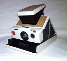 Polaroid SX-70 SLR Land Camera Model 2 Ivory Wood*Fully Working*