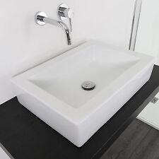 Lavabo cm 56 x40 da appoggio bacinella d'arredo lavandino design per arredobagno