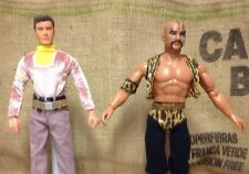 """Lost  Space Prof. Robinson 12"""" Action Figure & 1:6 MEGO Buck Tiger-man Doll Lot"""