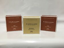 3 x RM Williams Stockman's Boot Polish - Chestnut, Natural and Black - RRP 41.85