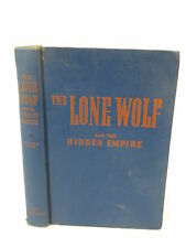Carl W. Smith THE LONE WOLF AND THE HIDDEN EMPIRE Whitman Publishing, WI  1947