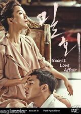 Secret Love Affair Korean Drama (3DVDs) Excellent English & Quality!