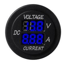 Car Boat Blue LED Panel Digital Voltage Meter Display Voltmeter Ammeter BI189