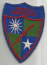 WW 2 US Army 5307th Composite Unit Merrills Marauders Patch Inv# G261