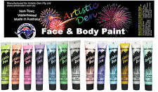 Metallic Face & Body Paints Metallic & Pearlescent Face Paint 13 x15ml