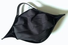 Issey Miyake Leather Trimmed Folding Bag - Collector's Item