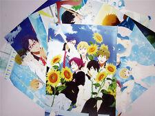 8PCS Japan Anime FREE! Iwatobi Swim Club Posters Haruka Makoto Nagisa Rin #SET2