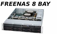 2U 8 Bay Lo-Pow X8DTI-F Freenas JBOD Storage Server SAS2 2x Intel Xeon 9211-8i