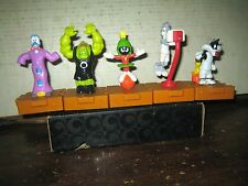 "5 RARE HTF COLLECTABLE LOONEY TUNES SPACE JAM FIGURE'S  LOT , "" SOLD AS IS """