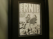 Ernie Comic Book Cover Artist Drawings Very Detailed Stamp Collecting Cover