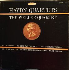 Collectors Item, Very Rare, The Wellers Quartets, Haydn Quartets