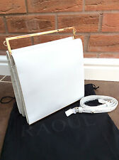 "RAOUL WHITE LEATHER ""CELIA"" HAND/SHOULDER BAG BNWT"