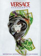 1997 VERSACE accessories : SCARF  magazine   Print AD