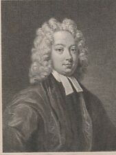1800 Five Antique Portraits - Thomas Parnell - Anglo- Irish Poet and Clergyman