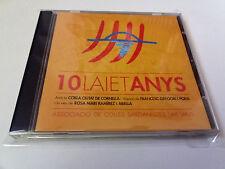 "CD ""10 LAIET ANYS"" CD 9 TRACKS COMO NUEVO COBLA CIUTAT DE CORNELLA FRANCESC GREG"