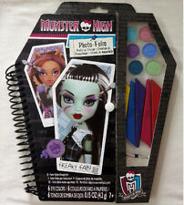 MONSTER HIGH PHOTO FOLIO MAKE UP DESIGN ARTIST DRAWING SET