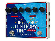 Electro-Harmonix Deluxe Memory Man 1100-TT Analog Delay with Tap Tempo - 1100 ms