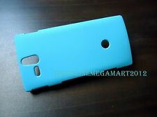 Premium Sky Blue Matte Hybrid Hard Back Cover,Case for Sony Xperia U St25i