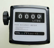 4 digital Diesel Fuel Oil Flow Meter Counter High Accuracy 1%