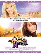 Affiche 40x60cm HANNAH MONTANA, LE FILM (2009) Miley Cyrus, Emily Osment NEUVE