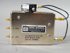 General Microwave Driver Box 311 - 10 Pin Diode Attenuator M190 - NEW