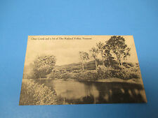 Otter Creek Rutland Valley Vermont Postmarked Vintage Color Postcard PC30