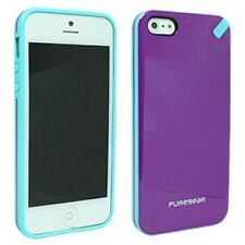 Apple iPhone 5 5S SE PureGear Slim Shell Impact Flexible Silicone Case Cover
