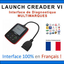 VALISE DIAGNOSTIQUE OBD2 MULTIMARQUE LAUNCH CREADER VI