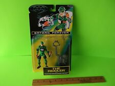 "Batman Forever The Riddler 5""in Figure w/Trapping Brain-Drain Helmet! Kenner toy"
