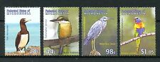 Micronesia 2009 MNH Birds of Pacific 4v Set Kingfishers Herons Parrots Stamps