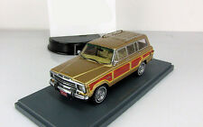 american Jeep Grand Wagoneer 4x4 1979 Gold Neo 1:43