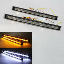 Fog Led Drl + Turn Signal Indicators For VW Passat 3C CC 35i 3B 3BG Polo 86C 6N1
