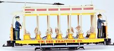 Bachmann G Scale Train (1:22.5) Streetcar Analog Open United Traction 93938