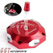Performance Red Pazoma Fuel Gas Tank Cap Cover For Honda CRF450R 2002-2015 Hot